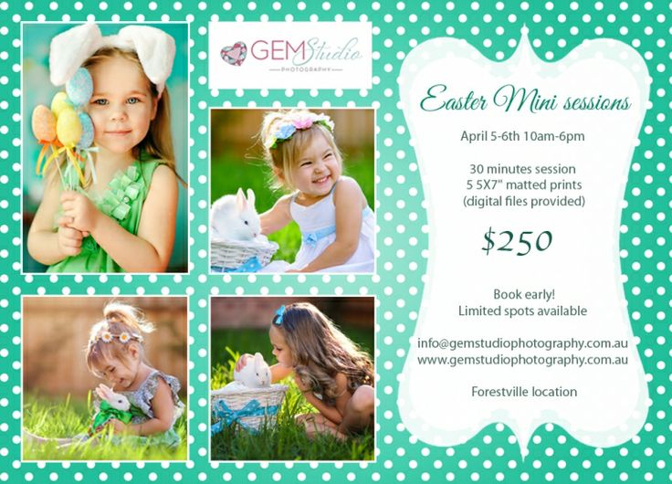 Easter mini sessions 2o14! Sydney, Northern Beach. Hurry up!