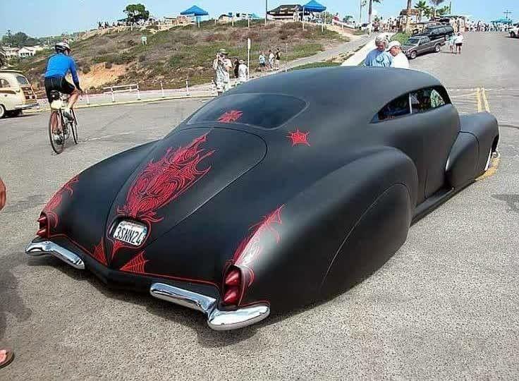 Best Chopped Images On Pinterest Custom Cars Kustom And Lead - Car signs on dashboardrobert jacek google