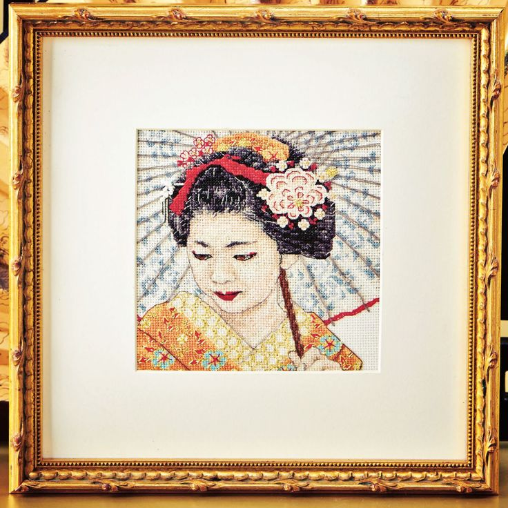 Exquisite orient - Available in Cross Stitch Collection 244