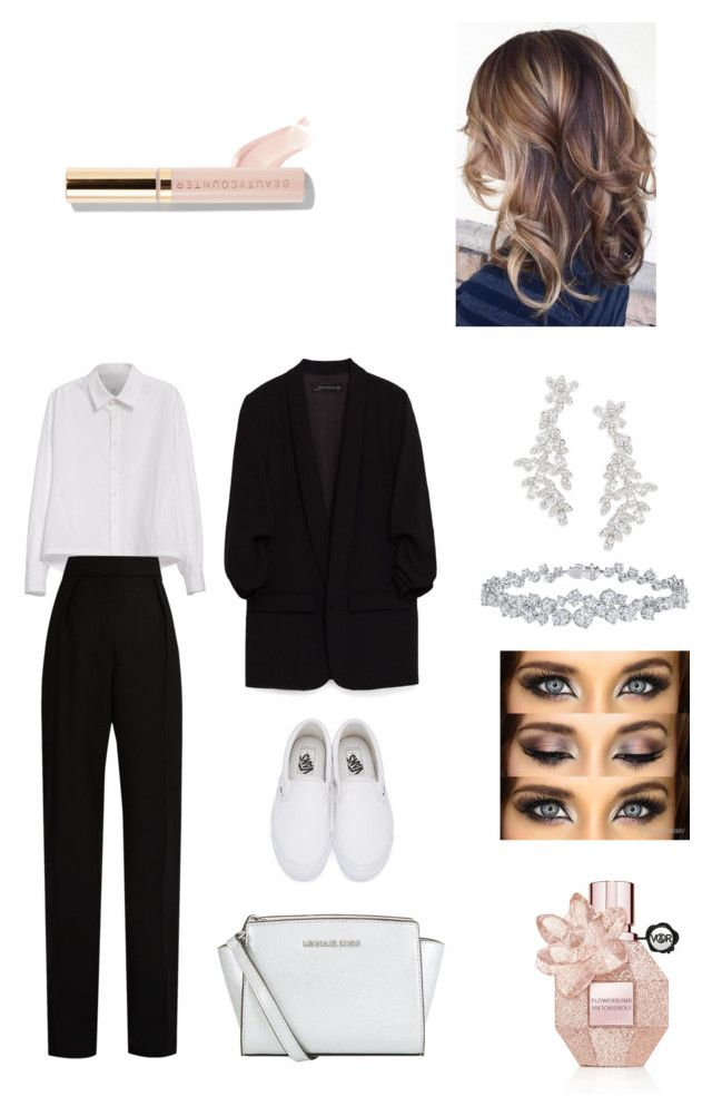 B&W by ruffo-srn on Polyvore featuring polyvore, fashion, style, Y's by Yohji Yamamoto, Lanvin, Vans, MICHAEL Michael Kors, Kate Spade, Harry Winston, Beautycounter, Viktor & Rolf and clothing