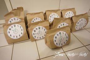 Countdown Bags sorgen für eine spannende Party zu Silvester mit Kindern new yea… – Jennifer Behn