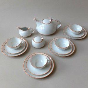 Rosenthal tea set designed by Walter Gropius