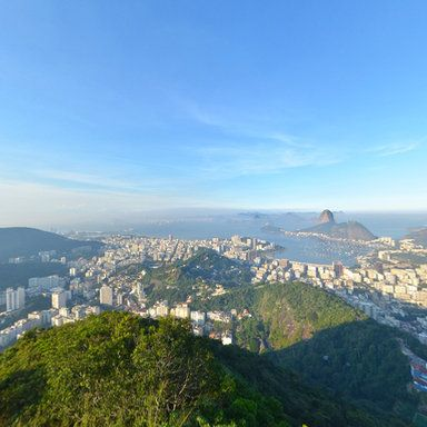 360° panoramic photography by Mauricio Rubio - Videopontocom. Visit us to see more amazing panoramas from Rio de Janeiro and thousands of other places in the world.
