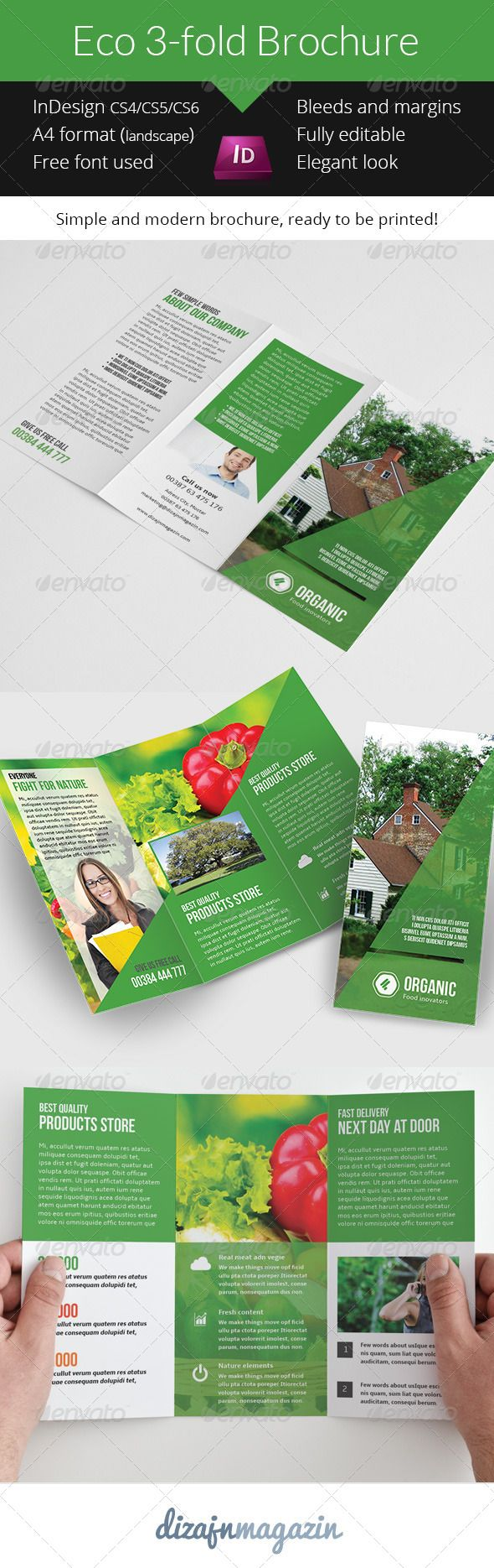 94 best print templates images on pinterest print for Nice brochure templates