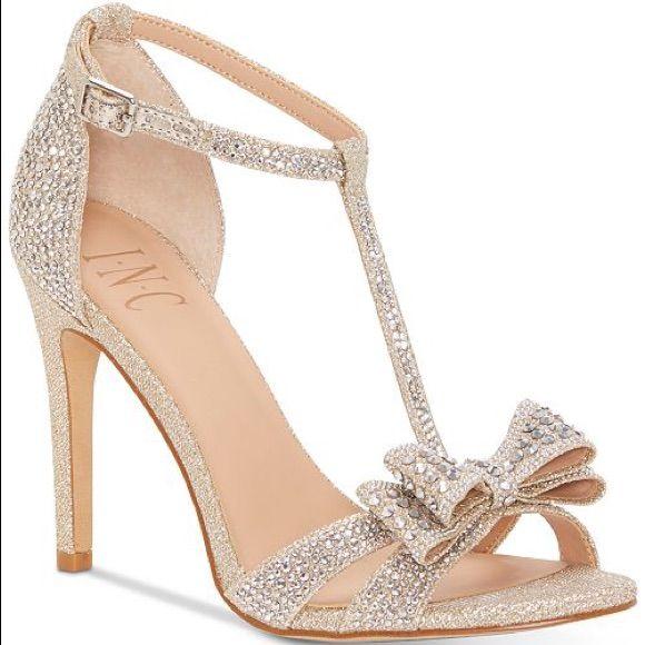 INC sparkly heels   Evening sandals