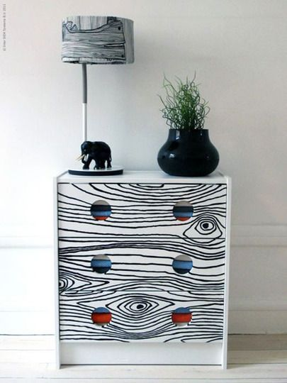 I have too much furniture right now as it is, but someday if I need a small dresser somewhere I may try this.