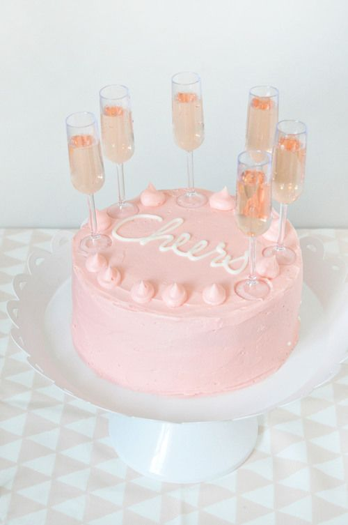 cheers cake - this would be fab for a bachelorette party