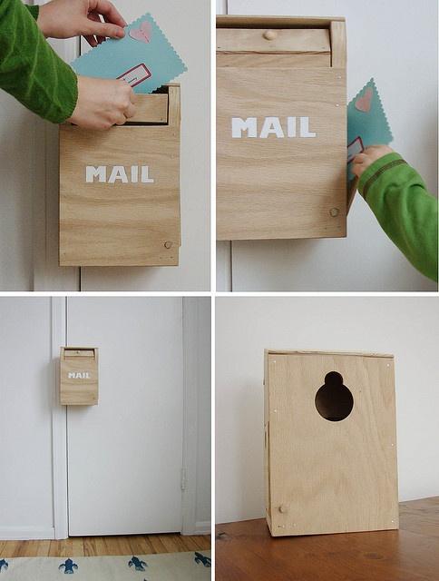 toy door knob mailbox by hownowdesign, via Flickr
