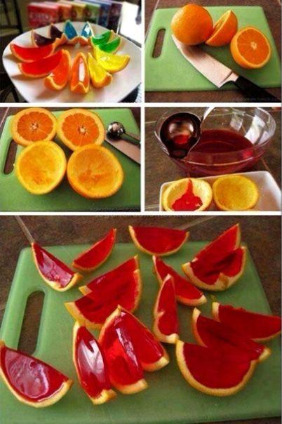 Naranjas gelatinas  on 1001 Consejos  http://www.1001consejos.com/social-gallery/naranjas-gelatinas