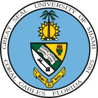 Seal of the University of Miami, Coral Gables, FL