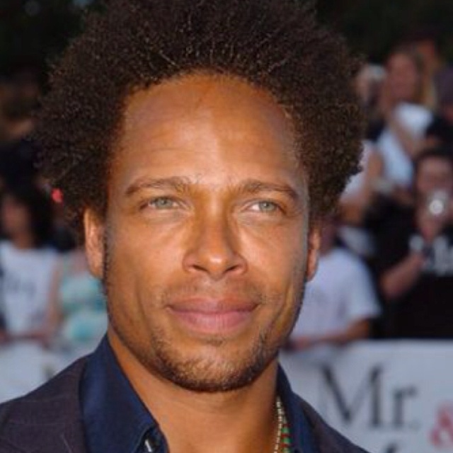 Gary Dourdan Black Male Actor With Green Eyes Natural Or