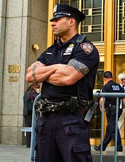 movies of hunky cops and muscle