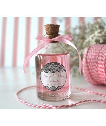Büyük Rose Kolonya Nikah Şekeri (50cc)  www.bonbonelle.com #tasarım #design #favors