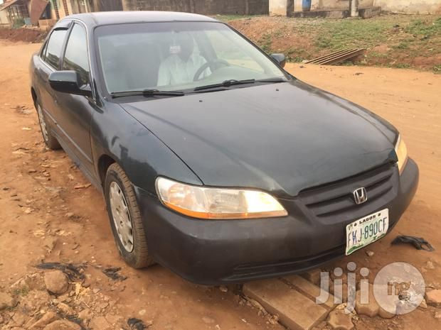 Neatly Used Honda Accord 2002 Green for sale in Lagos Mainland   Buy Cars from Mr Showunmi on Jiji.ng