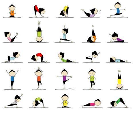 25 yoga poses....
