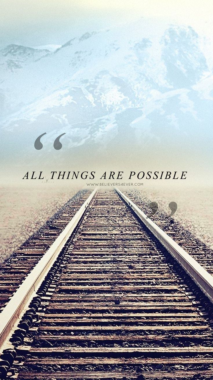 Wallpaper iphone religious - All Things Are Possible Free Christian Lock Screen Wallpaper For Your Mobile Device