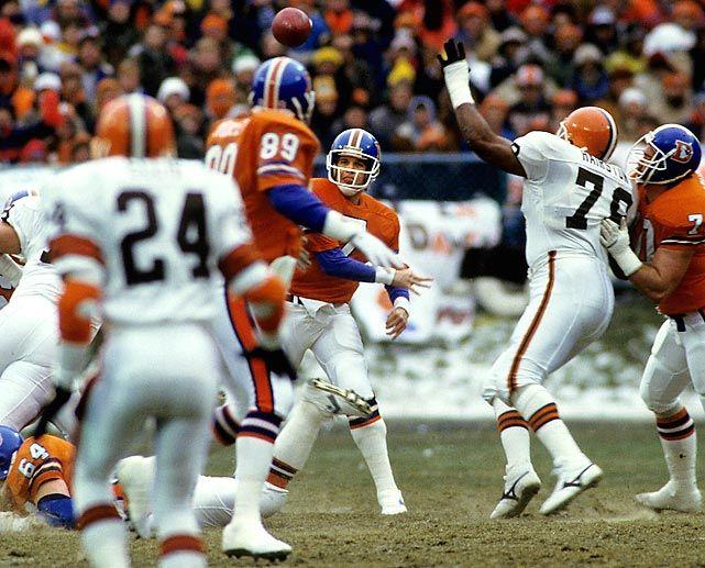 John Elway Broncos The Drive