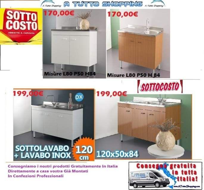 Lavelli scolapiatti basi per cucina mobili cucina in - Basi per cucina ...