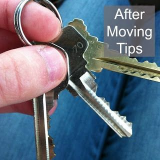 Pin this for the next time you move. Ideas and tips to make it less stressful. #HomeMoving,