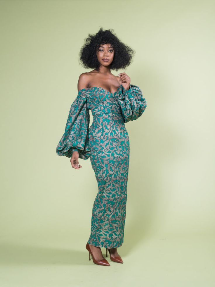Levictoria Frances Dress ~DKK ~ Latest African fashion, Ankara, kitenge, African women dresses, African prints, African men's fashion, Nigerian style, Ghanaian fashion.