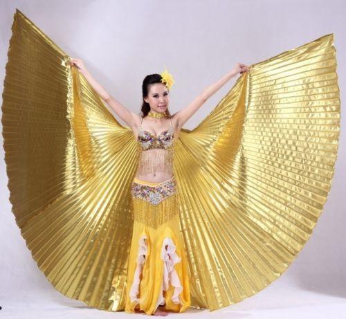 Isis-Wings-Schleier-Bauchtanz-Belly-dance-Kostuem-Fasching-Karneval-Samba-Tanz