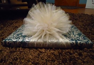 how to make a shluldee wrap from tulle