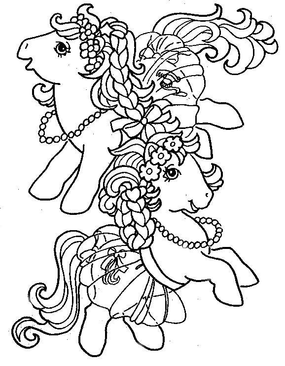 My Little Pony G1 Coloring Pages : Best mlp coloring pages images on pinterest