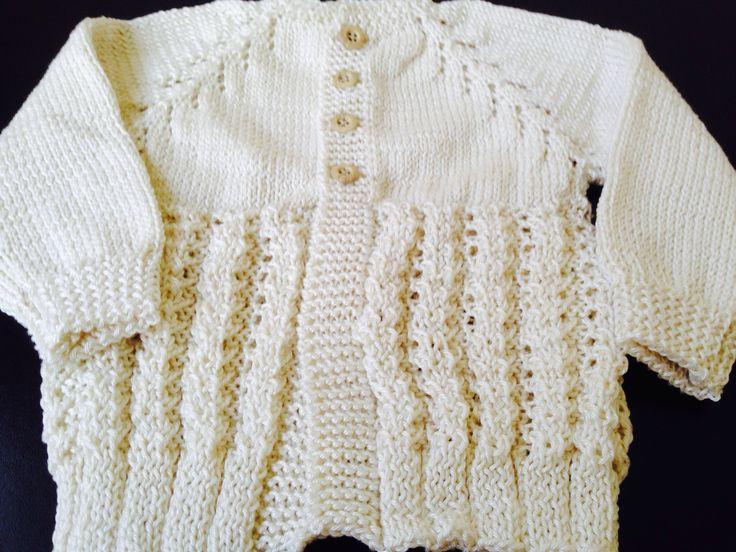 Suéter en tricot
