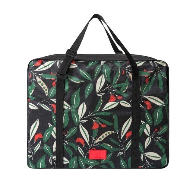 Travel Luggage Duffle Bag Lightweight Portable Handbag Beautiful Floral Pattern Large Capacity Waterproof Foldable Storage Tote