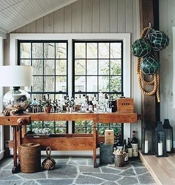 Black Windows With White Trim Farmhouse Pinterest