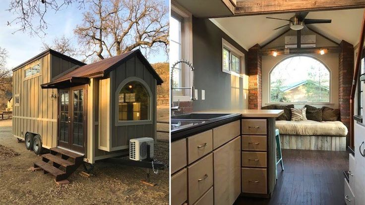 Rustic Elegance Tiny House on Wheels for sale in California