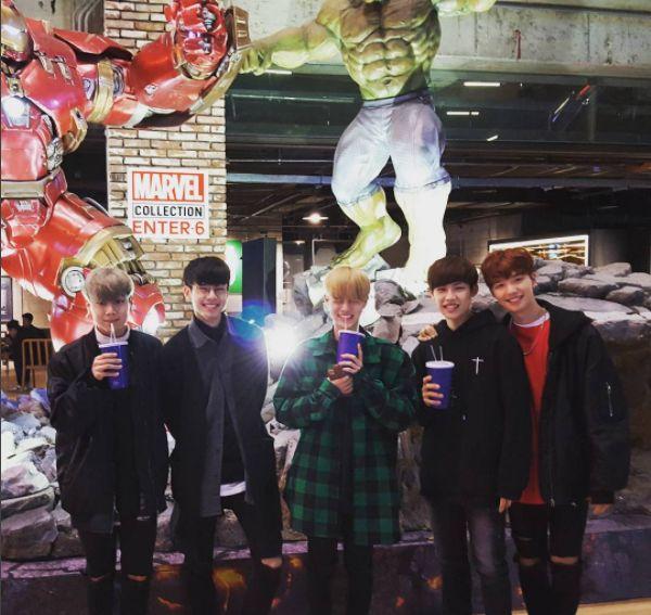 Brand New Music Brandnew boys  Kim Donghyun 김동현  Park Woojin 박우진  Lee Daehwi 이대휘  Lim Youngmin 임영민