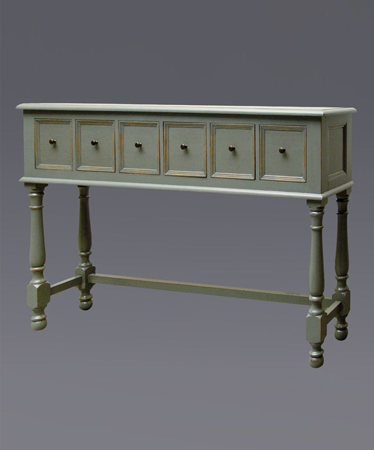 Lovely Narrow Hall Table with Drawers