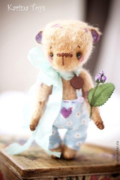 Мишки Тедди ручной работы. Ярмарка Мастеров - ручная работа Я подарю тебе лавандовые розы... Handmade.