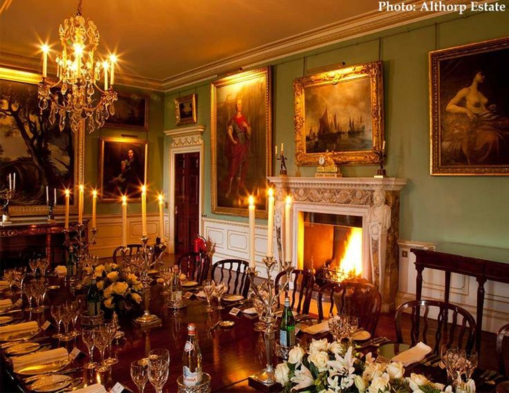 althorp house marlborough room in england historic home of the spencer family we now