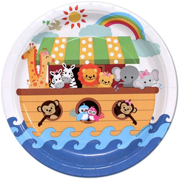17 best images about noah 39 s ark baby shower favors games for Noah s ark decorations