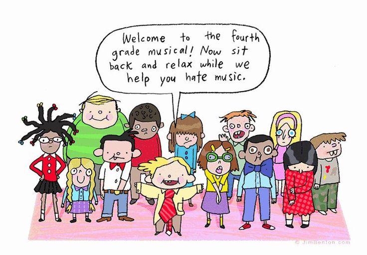 25 Wholesome Cartoons From Jim Benton