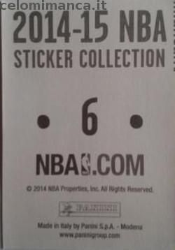 2014-15 NBA Sticker Collection: Retro Figurina n. 6 Celtics Road Jersey