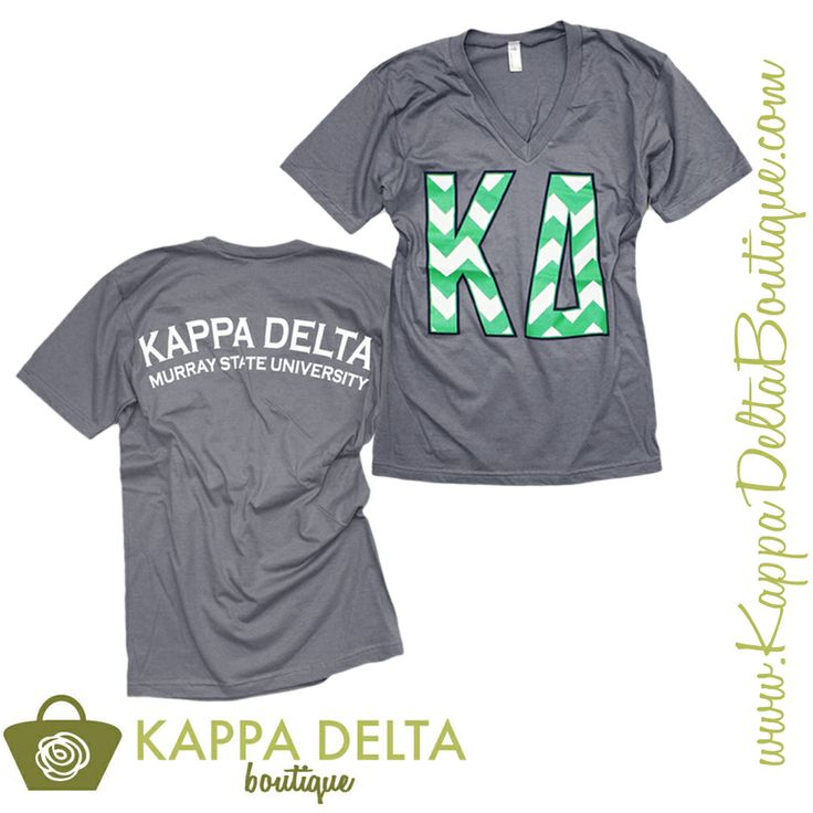 Kappa Delta Greek Letter Shirt- Available for LARGE Group Orders DnDWG