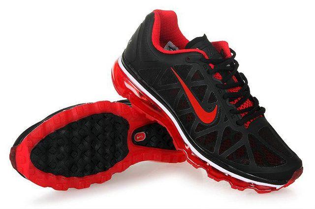 Hope Uniting | Maroubra | Nike Air Max 2009 womens Running Shoe Black Red Fashion .
