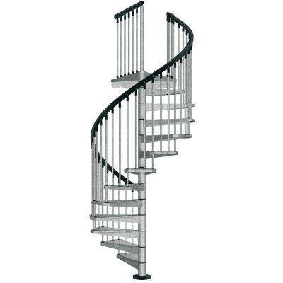 Enduro 47 in. Galvanized Steel Spiral Staircase Kit