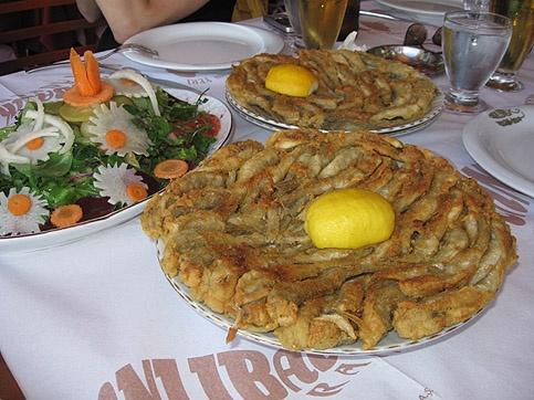 Amasra...(Türkiye) Amasra salatası... mezgit....Nefisssssssssssss