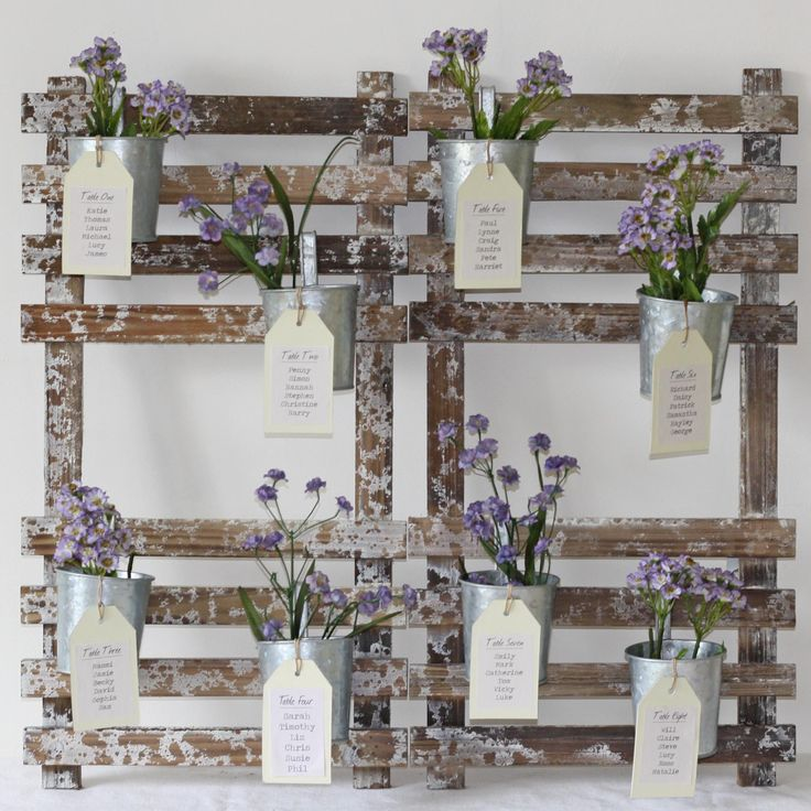 This except with jars..... could be used on the reception table filled with pictures!