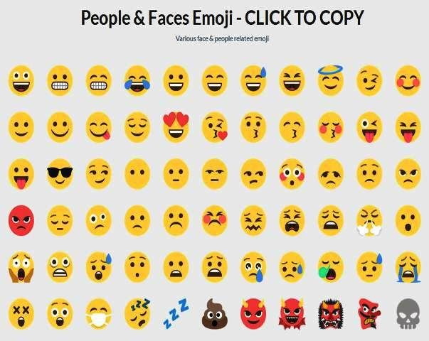 httpwwwemojicoolcom copy paste emoji list of