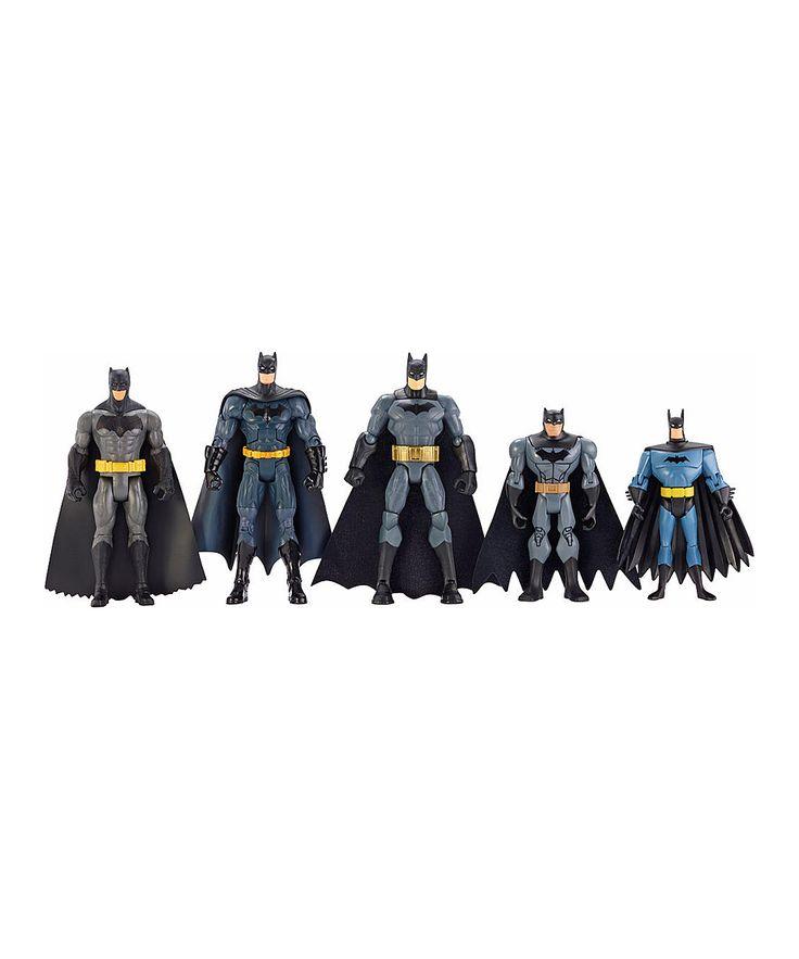DC Comic Showdown Batman Action Figure Set