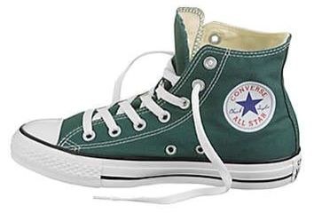 Dark Green Converse All Star High Top
