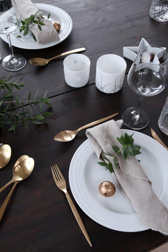 Pomysły na Świąteczne nakrycie stołu | Make Home Easier