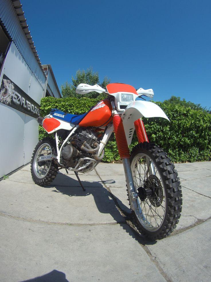 Honda XR 250 R, 1988 Motos enduro, Motos, Motocicletas