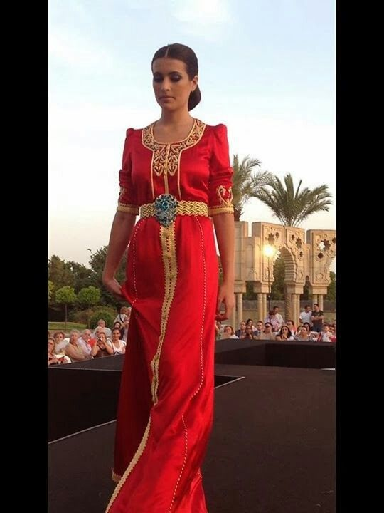 Moroccan caftan become so modern and beautiful..