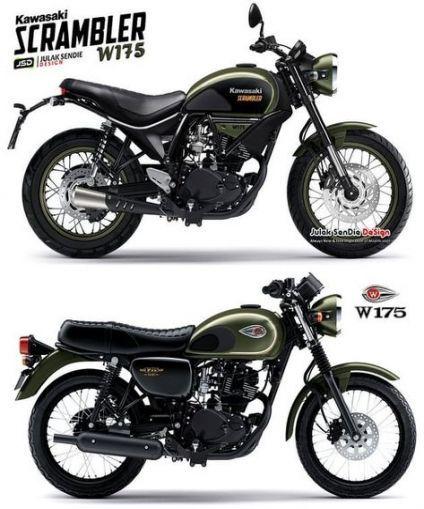 70 Ideen für Scrambler Motorrad Kawasaki   – > MOTORCYCLES